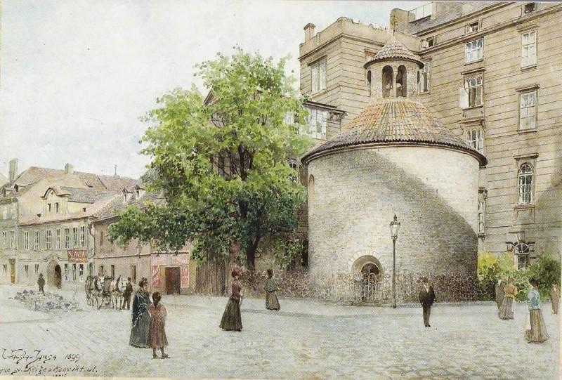 Ротонда Святого Креста в Праге